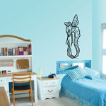 Long Body Flying Insect Decal