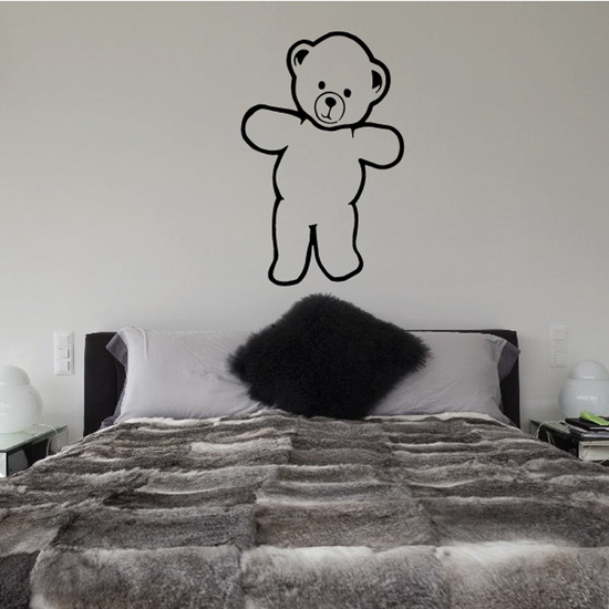 Adorable Bear Decal