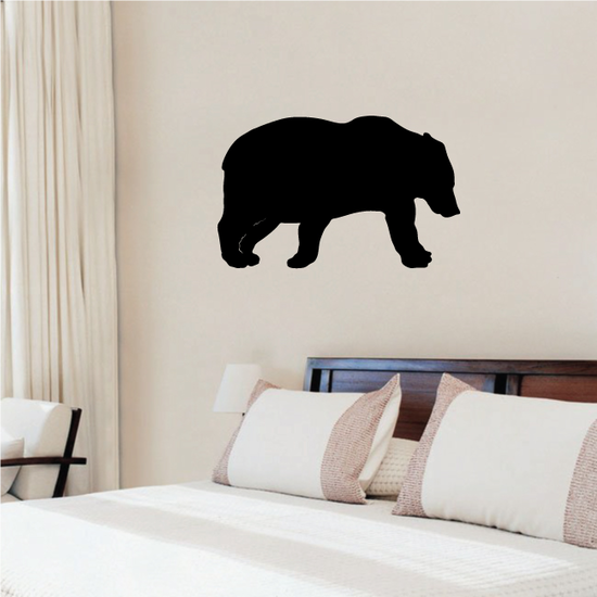 Sneaking Bear Decal