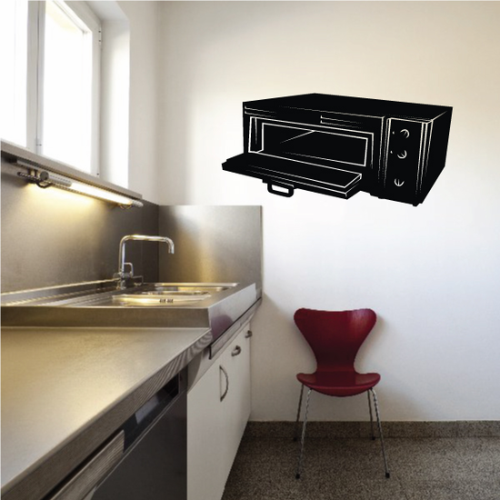 Pizza Oven Decal