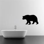 Prowling Bear Decal