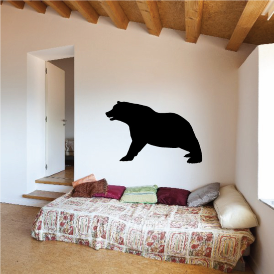 Stretching Bear Decal