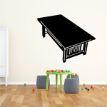 Rectangle Coffee Table Decal