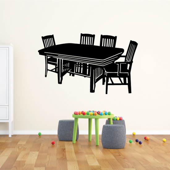 Dinner Table Decal