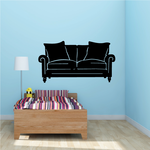 Two Seater Couch Decal