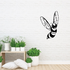 Cool Flying Wasp Decal