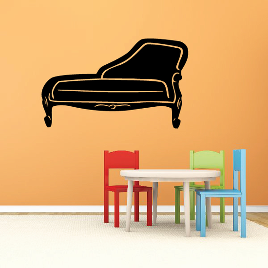 Retro Lounge Couch Decal