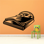 King Size Bed Decal