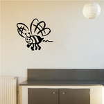 Buzzing Bumble Bee Decal