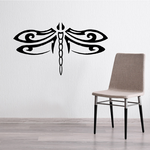 Lovely Spread Wings Dragonfly Decal