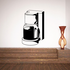 Coffee Maker with Hot Coffee Decal
