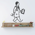 Doctor Clipboard Wall Decal - Vinyl Decal - Car Decal - Business Decal - MC28