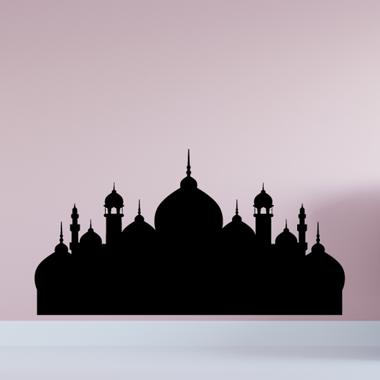Crystal Mosque Decal