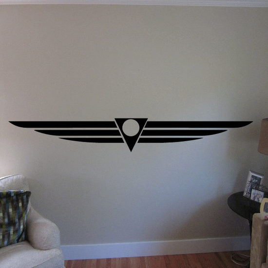 Antique Wings Decal