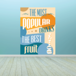 The Most Popular Drinks The Best Fruit Sticker