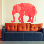 Origami Elephant Sticker