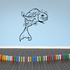 Flapping Bubbles Goldfish Decal