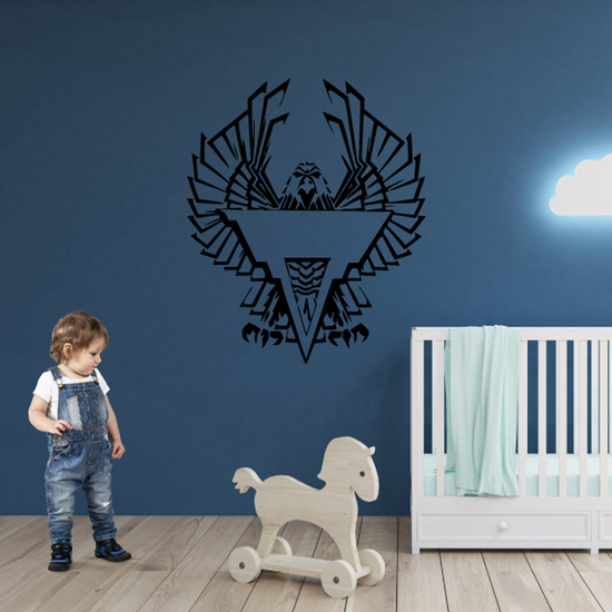 Majestic Eagle and Emblem Decal
