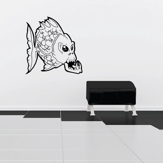 Fish Wall Decal - Vinyl Decal - Car Decal - DC278