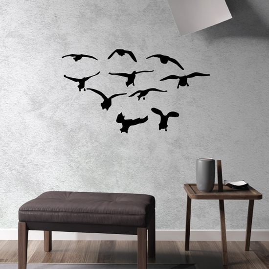 Duck Wall Decal - Vinyl Decal - Car Decal - DC033