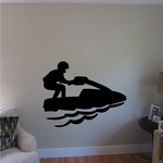 Simple Stand Up Jet Ski Decal