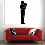 Contemplating Bowling Player Decal