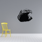 Grand Watching Eagle Head Decal