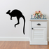 Kangaroo Hopping Silhouette Decal