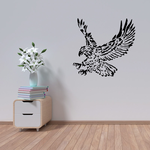Grappling Eagle Decal