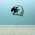 Majestic Watching Eagle Head Decal