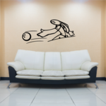 Bunny Bowling Player Decal