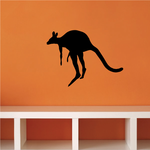Jumping Kangaroo Decal