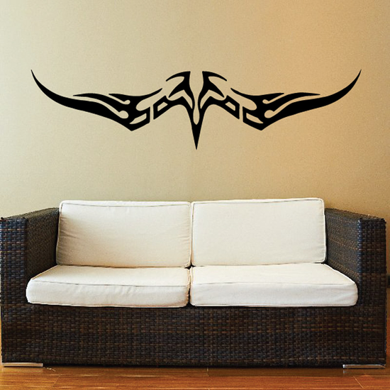 Downward Swooping Eagle Decal