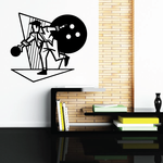 Bowling Wall Decal - Vinyl Decal - Car Decal - Bl007