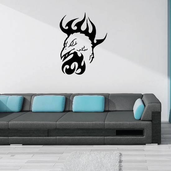 Scorching Head Decal