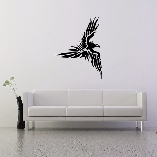 Disturbed Flying Eagle Decal