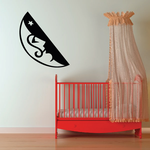 Half Moon and Star Decal