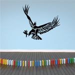 Lunging Eagle Decal