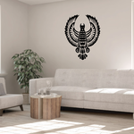 Detailed Feathers Eagle Decal