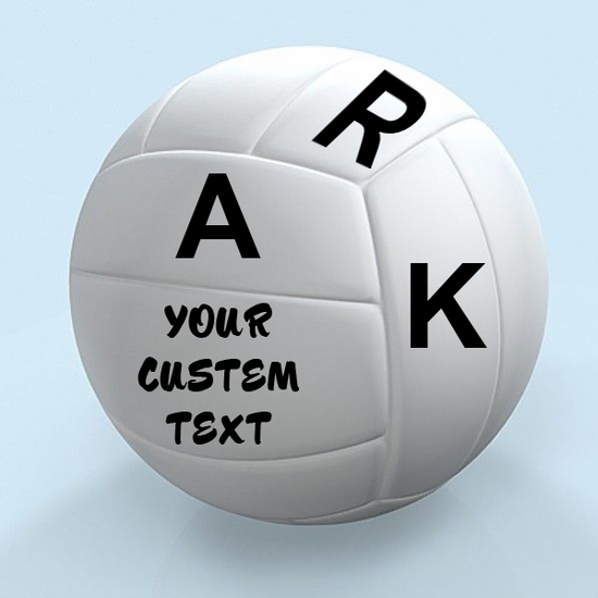 Customize your Soccer Balls with Any custom text in any font!