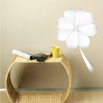 White 4 Leaf Clovers St Patrick's Day Wall Decal - Vinyl Decal - Car Decal - Idcolor012
