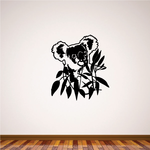 Koala Bear Eating Decal