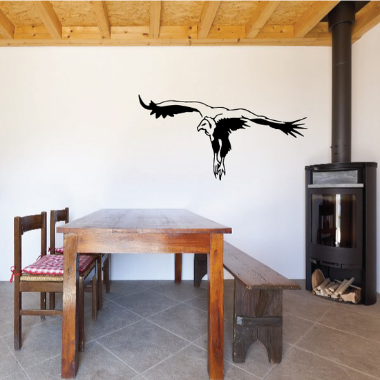Swooping Vulture Decal