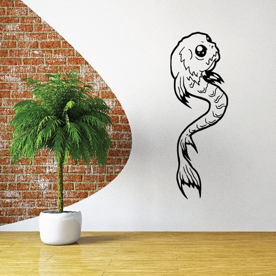 Fish Wall Decal - Vinyl Decal - Car Decal - DC286