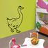 Duck Wall Decal - Vinyl Decal - Car Decal - CF394