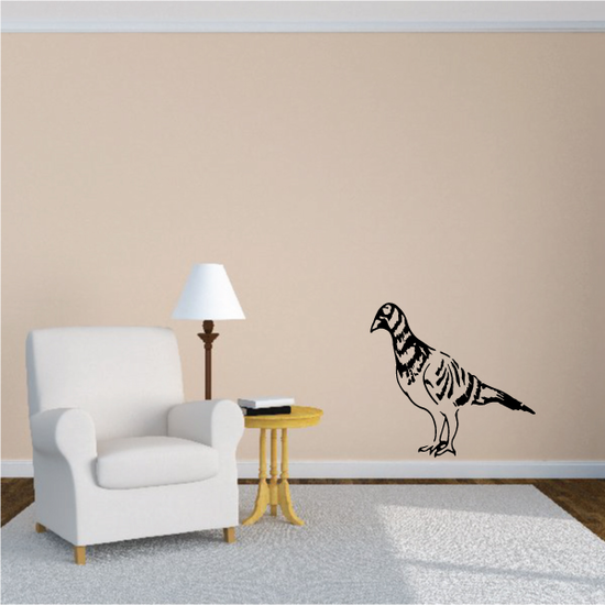 Standing Fowl Decal
