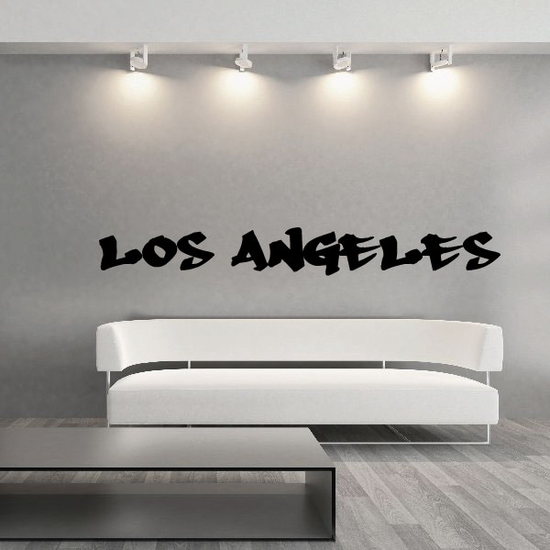 Los Angeles Graffiti Decal