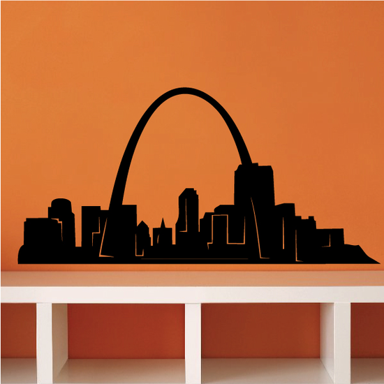 St. Louis Gateway Arch Decal