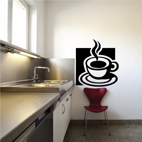 Cup Of Coffee Decal