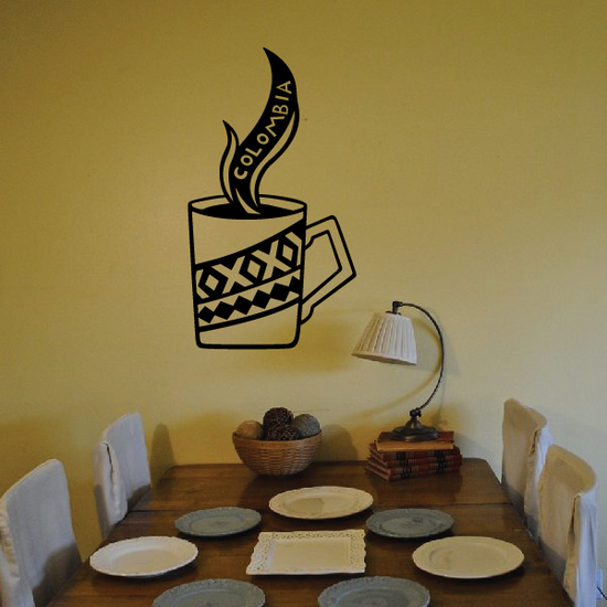 Columbian Coffee Decal